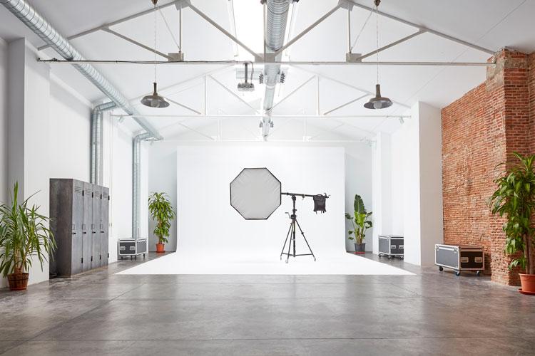 Producciones fotográficas en Madrid.