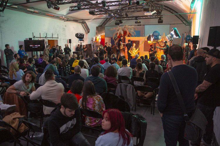 Greg Swales en Madrid Photo Fest.